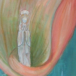 Our Lady of the Lilies Note Card Set